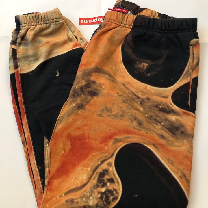 Supreme Blood and Semen Sweatpants Black FW17
