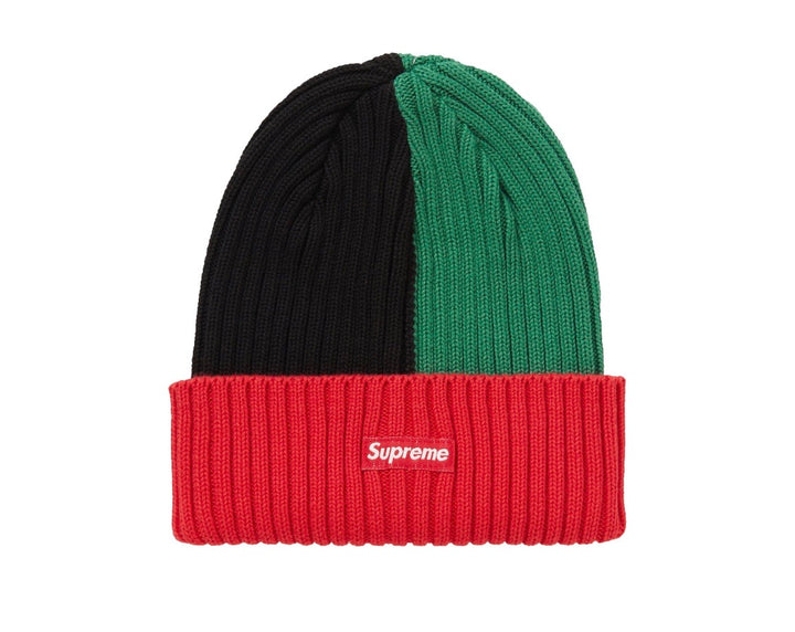 Supreme Overdyed Ribbed Beanie Mixed Red SS20
