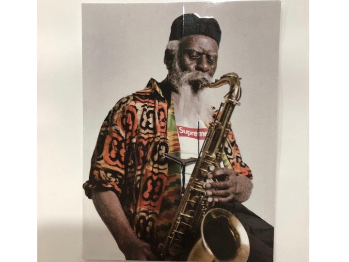 Supreme Pharoah Sanders Sticker FW20