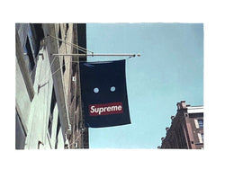 Supreme Banner Sticker