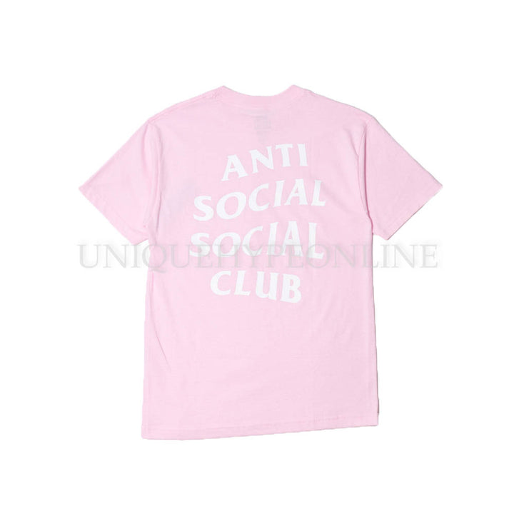 Anti Social Social Club T-shirt Pink FW17