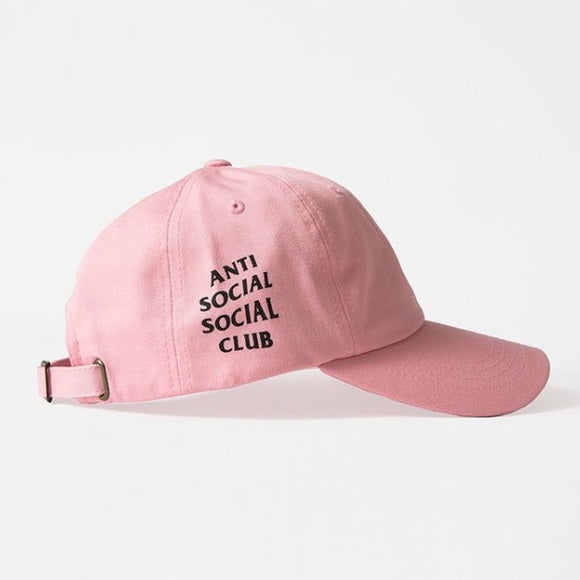 Anti Social Social Club Cap Pink
