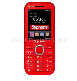 Supreme x BLU Burner Phone FW19