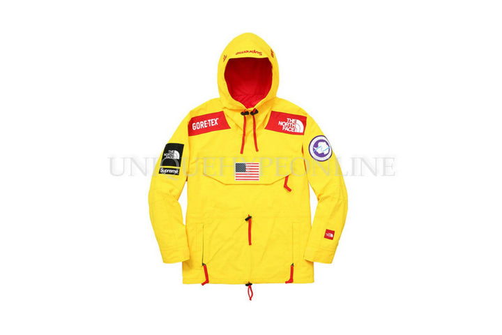 Supreme The North Face Trans Antarctica Expedition Pullover Jacket SS17 Yellow