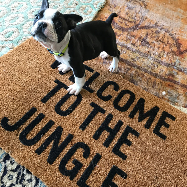 Welcome to The Jungle Welcome Mat