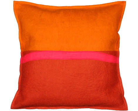 Fire Abstract Watson & Co Pillow