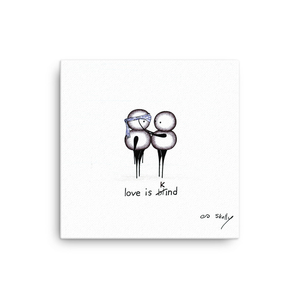 Love is Kind - Premium Canvas Print