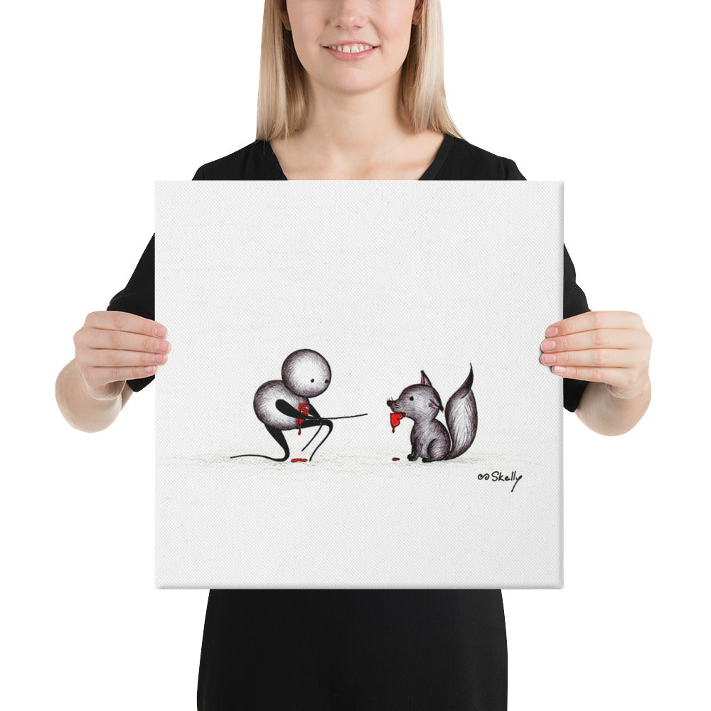 Fetch - Premium Canvas Prints