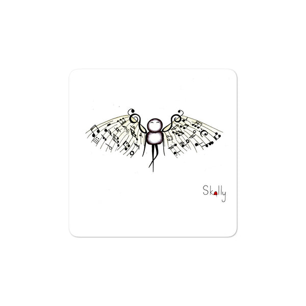 Music Wings - Bubble-free stickers