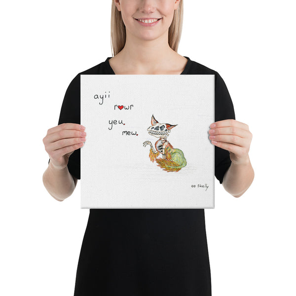 Raptor Fox - Canvas Prints