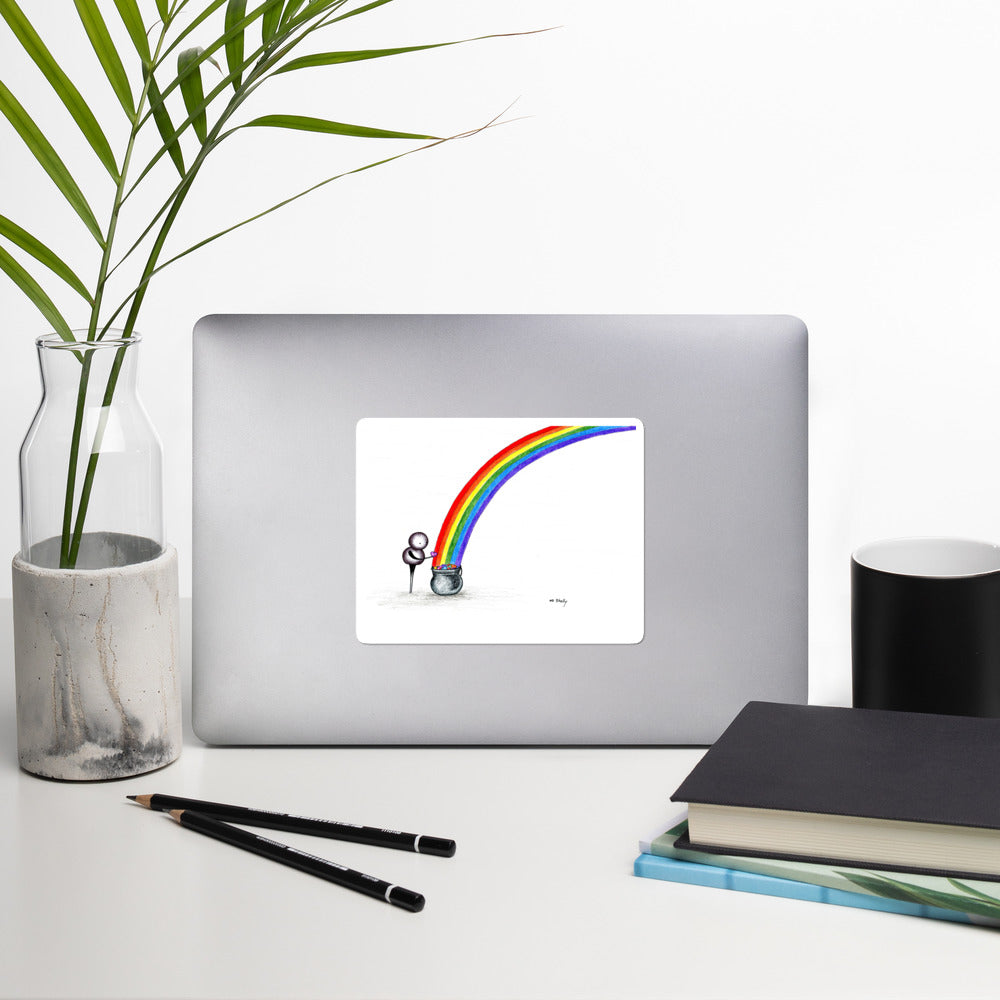 The End of the Rainbow - Vinyl Stickers