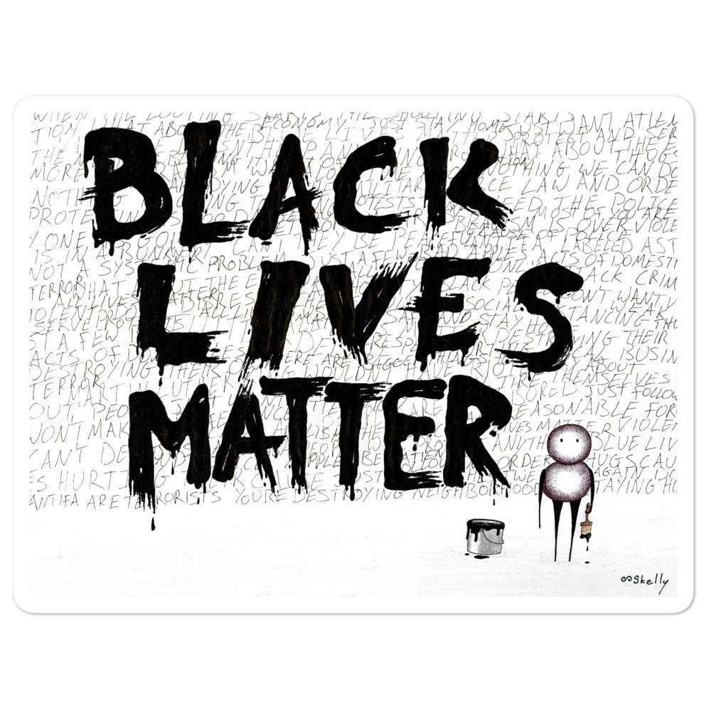Black Lives Matter - At Cost Stickers