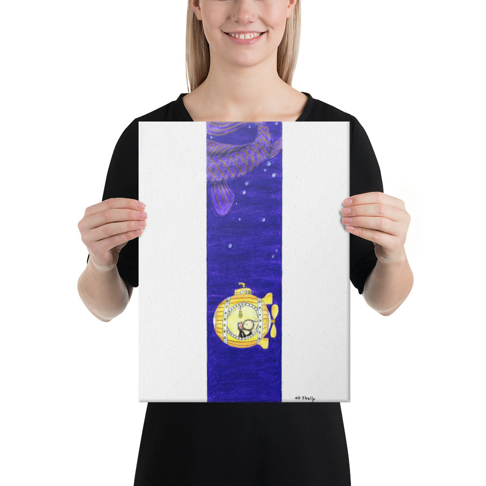 Submarine: Canvas Print