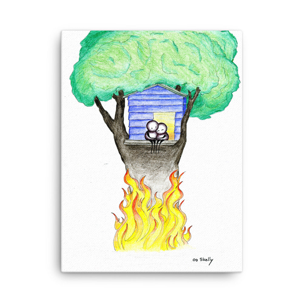 Treehouse - Canvas Print