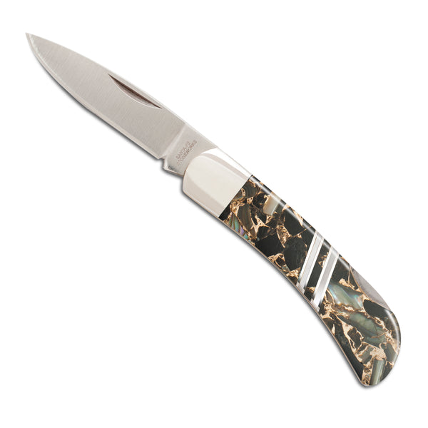"Gemstone Exotics Collection 3"" Lockback Knife"