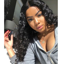 Load image into Gallery viewer, Deep Wave Full Lace Wig Pre Plucked Hairline With Full Ends