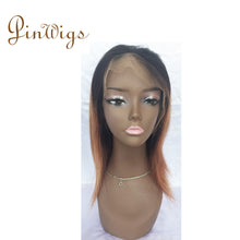 Load image into Gallery viewer, Pinwigs 1B Roots Brown Body Wave/Straight Full Lace Wig , 100% Human Hair, Pre Order take 5-7 Business Days to Customize