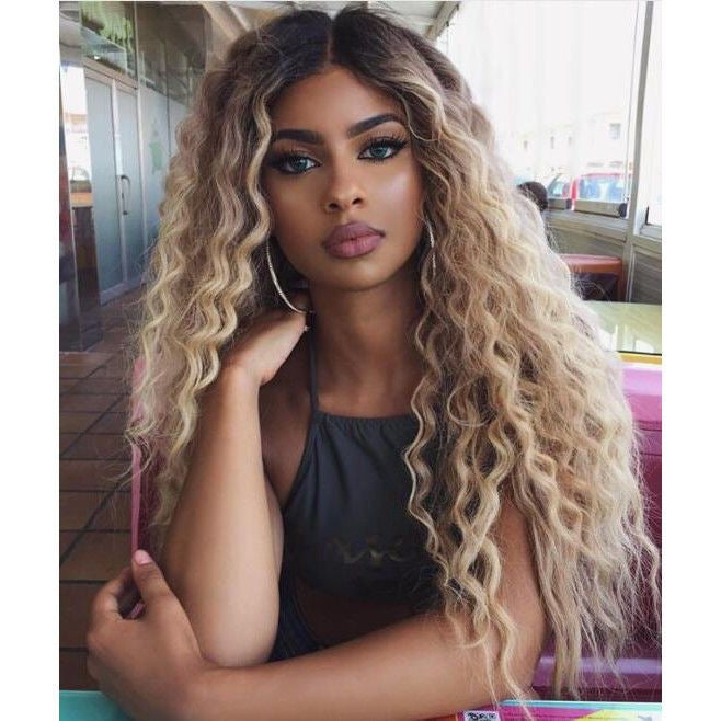 Pinwigs 1B Roots 613 Deep Wave Full Lace Wig , 100% Human Hair, Pre Order take 5-7 Business Days to Customize