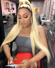Load image into Gallery viewer, Pinwigs 1B Roots 613 Body Wave/ Straight Full Lace Wig , 100% Human Hair, Pre Order take 5-7 Business Days to Customize