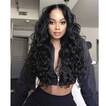 Load image into Gallery viewer, Breathable Water Wave Lace Front Wig Pre Plucked