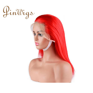 Pinwigs Hair Red Bob Full Lace Wig/Lace Front Wig , Pre Order take 5-7 Business Days to Customize