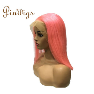 Pinwigs Hair Pink Bob Full Lace Wig/Lace Front Wig , Pre Order take 5-7 Business Days to Customize