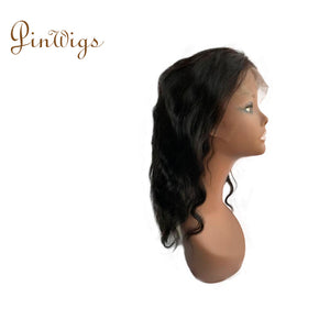 Straight Hair Full Lace Wig Pre Plucked Hairline