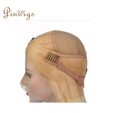 Load image into Gallery viewer, 613 Blonde Hair Body Wave Full Lace Wig Pre Plucked Hairline