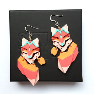 Demi Fox (Star Island)  Earrings by Sstutter