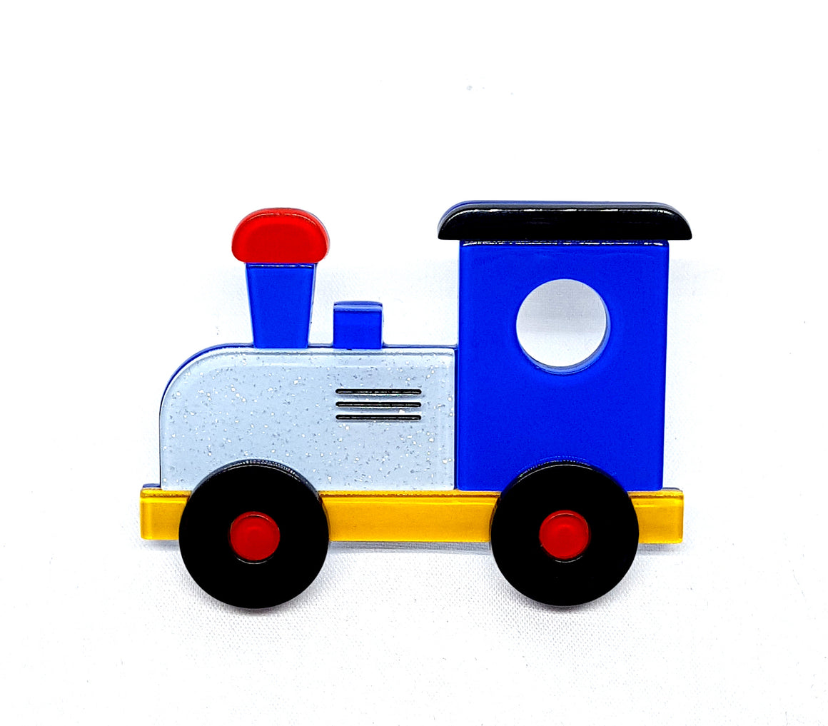 The Nostalgia Express Train Brooch by Erstwilder
