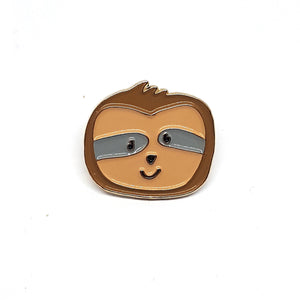 Lazy Sloth Enamel Pin by Patch Press