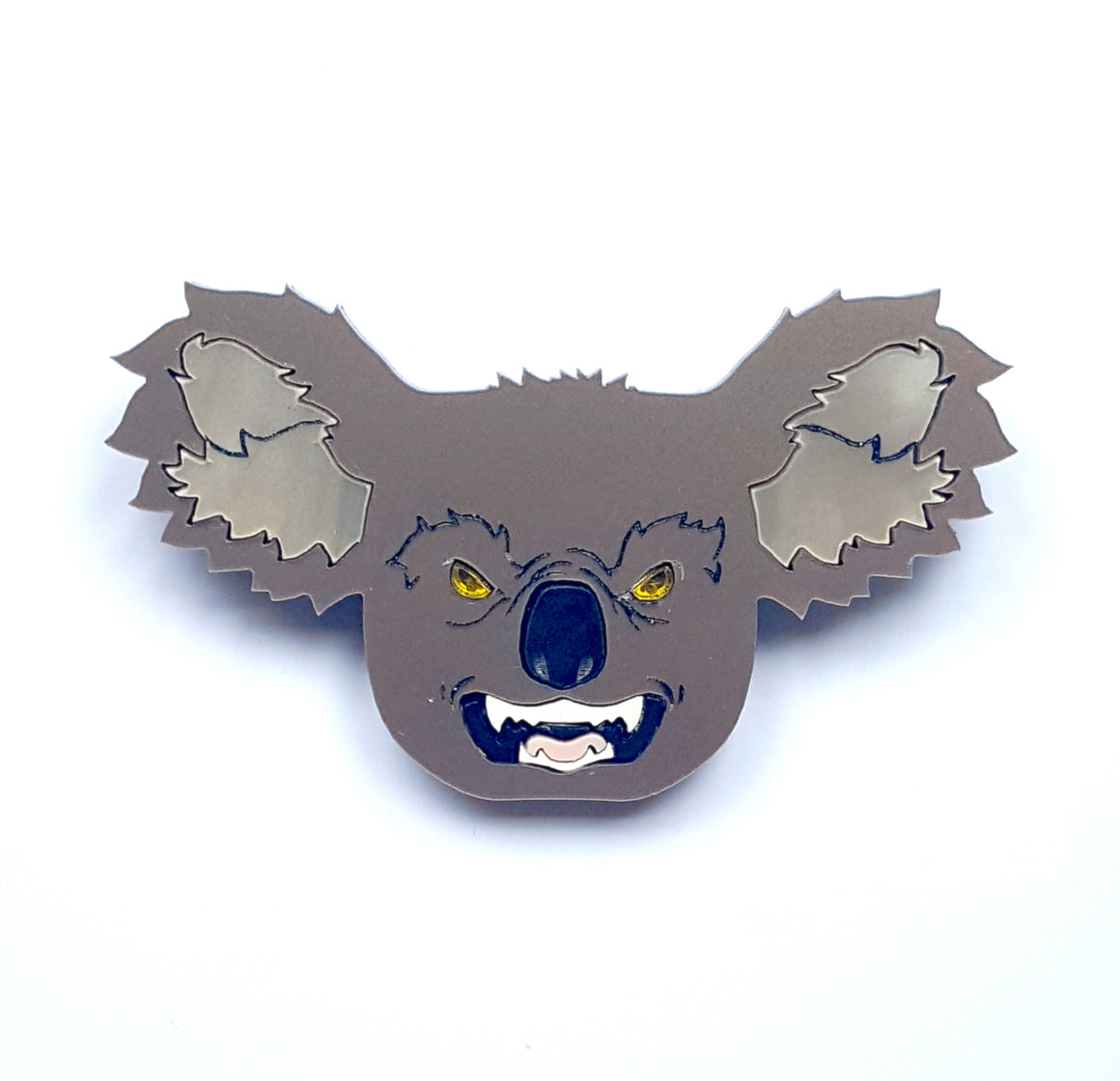 Drop Bear Brooch by KimChi and Coconut
