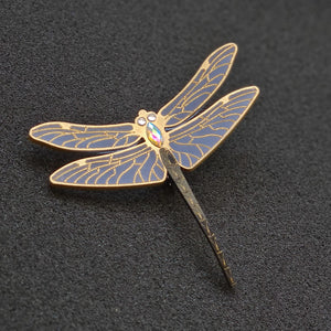 DragonFly Brooch by MissJ