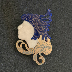 Artemedes Art Nouveau Brooch by MissJ
