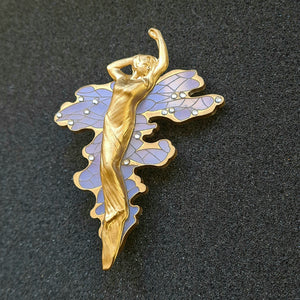 Water Bearer Brooch by MissJ