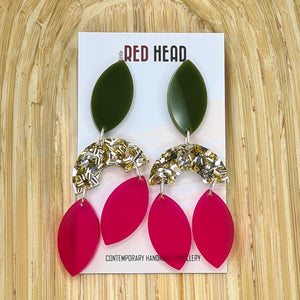 Goddess Chandeliers Earrings by Little Red Head