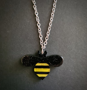 Babette Bee Pendant Necklace by Erstwilder