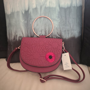 Poppy Field Saddle Bag by Erstwilder