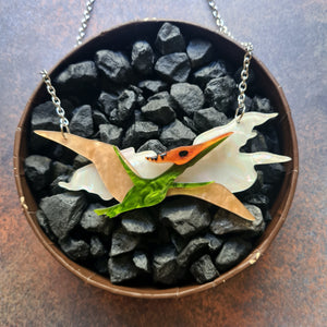Celine the Pterodactyl Necklace by Erstwilder
