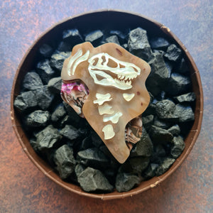 Sedimental Keepsake Brooch by Erstwilder