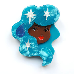 Aquarius Brooch Erstwilder