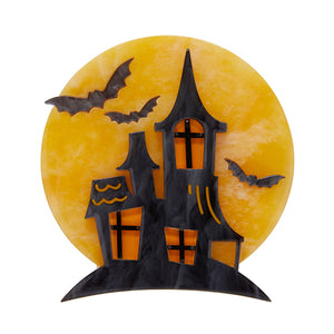 On Haunted Hill Brooch by Erstwilder