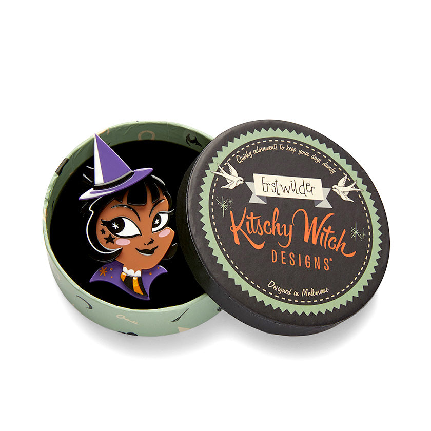 Which Witch? Brooch V2 by Erstwilder/Kitschy Witch