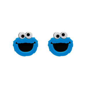 Cookie Monster Earrings by Erstwilder