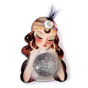 Fortune Teller Brooch by LaliBlue