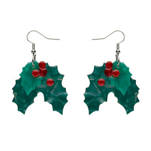Holly Jolly Earrings by Erstwilder