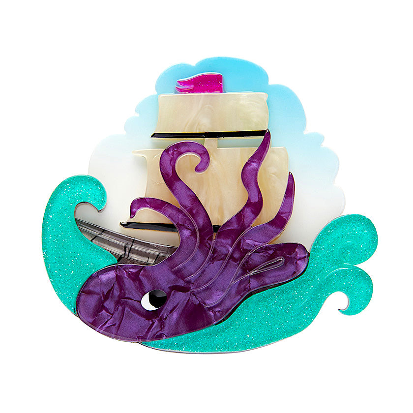 From the Deep Kraken Brooch Erstwilder
