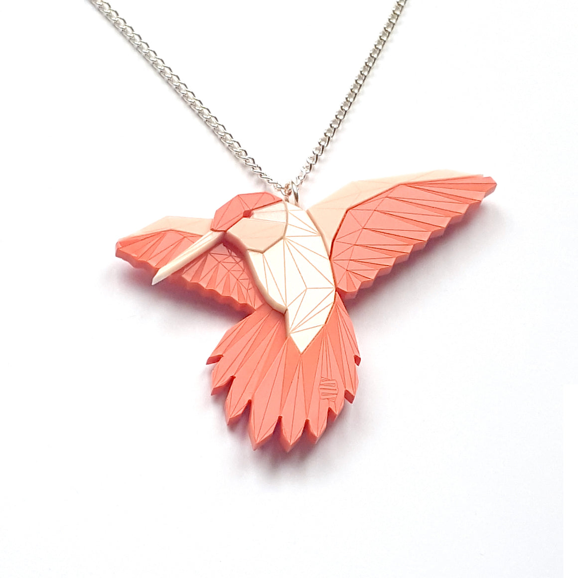 Hummingbird Necklace Albina by Sstutter