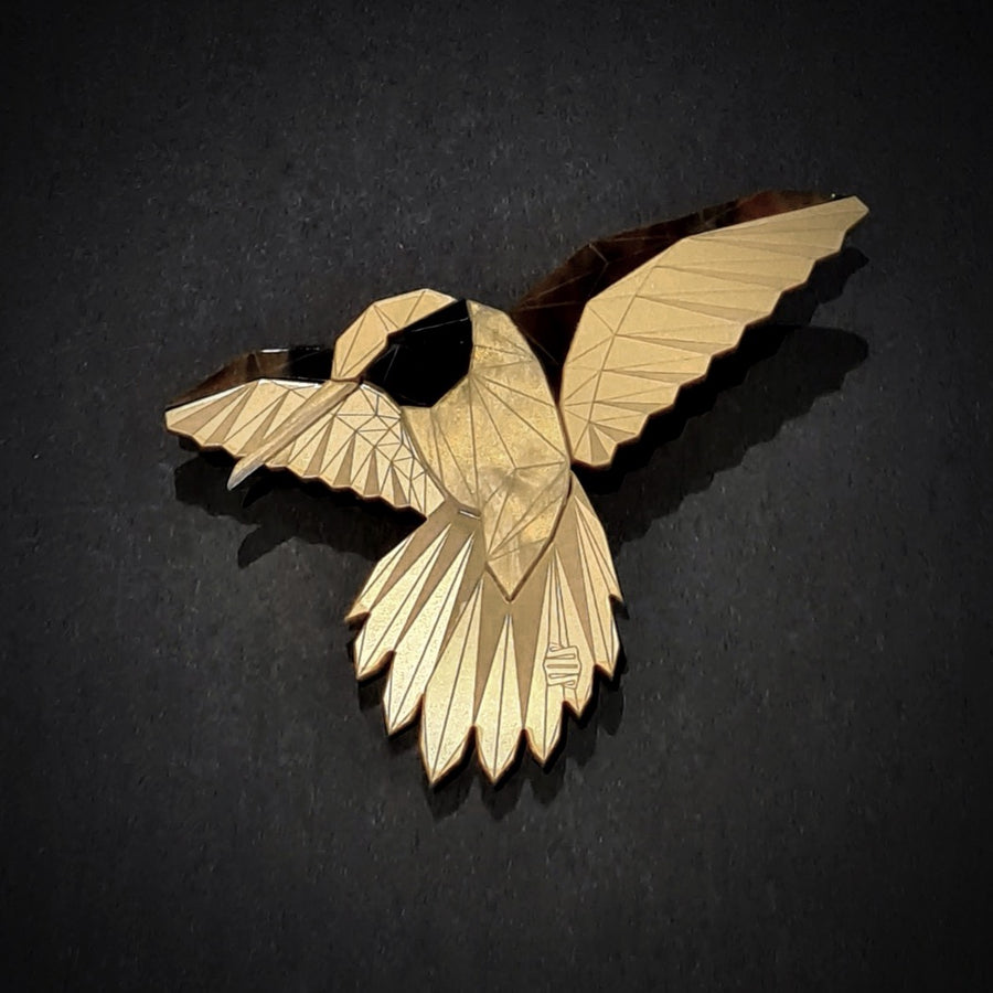 Hummingbird Brooch (Lost City) by Sstutter