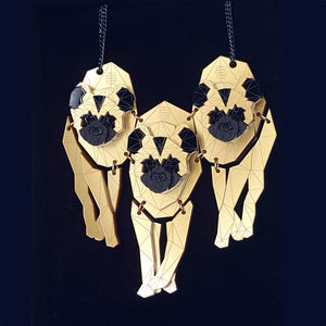 Hyena Pack Necklace by Sstutter
